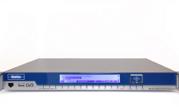Newtec launches MDM6100 modem at NAB