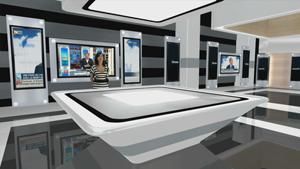 Al-Nahar TV chooses Hybrid's 3D virtual studio