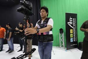 AM Studio hosts Steadycam workshop