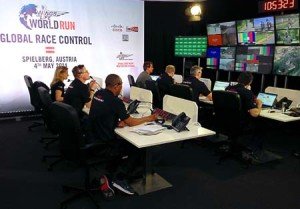 Riedel World Cup run control.