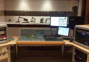 Calrec Omega installed at Kuwait Broadcast Services' Studio 11.