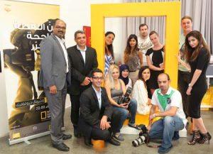 Nat Geo workshop attendees at Gulf Photo Plus.