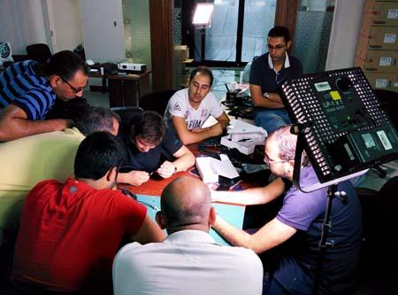 Neutrik trains Al Rayyan TV team