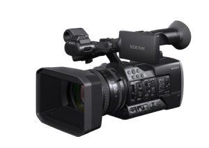 Sony X160 camcorder.