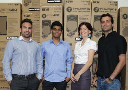 LOUD Technologies partners with NMK for distributorship