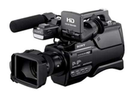 Sony introduces HXR-MC2500 shoulder-style HD camcorder