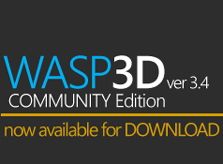 WASP3D announces community edition for software suite