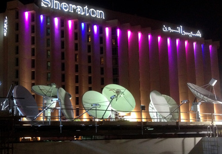 Hiltron installs new teleport for Alarab News Channel