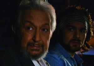 Veteran Egyptian actor Nour El-Sharif in Cairo Time.