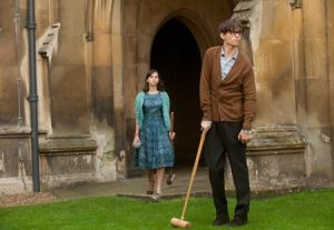 A still from 'The Theory of Everything'.