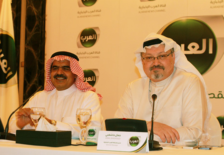 fahad alsukait and Jamal Khashoggi