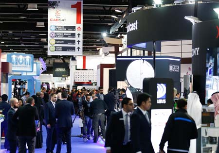 CABSAT among world's top three media industry events
