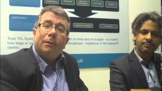 The TSL team talks about two projects they secured from OSN at CABSAT 2015.
