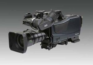 Ikegami SHK810 8K UHD camera.