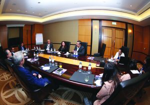 The OTT roundtable took place on the first day of CABSAT15.