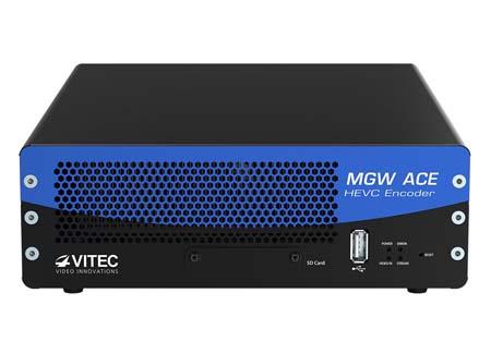 Vitec unveils hardware-based HEVC portable encoder