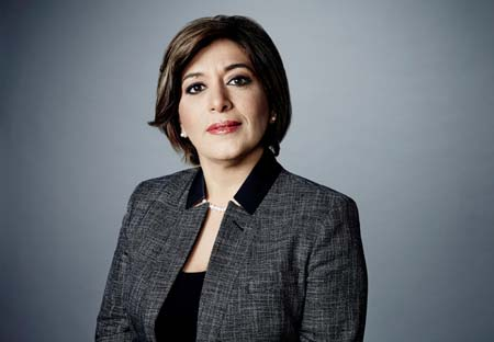 Caroline Faraj, VP Arabic Services, CNN.