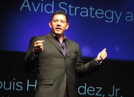 Louis Hernandez, Jr., Chairman, President, and CEO of Avid.