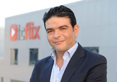 Carlos Tibi, CEO and Founder of Icflix.