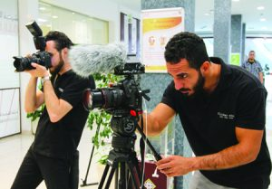 Flicker Show productions covered the Dubai Ramadan Forum using traditional HD cameras and smartphones.