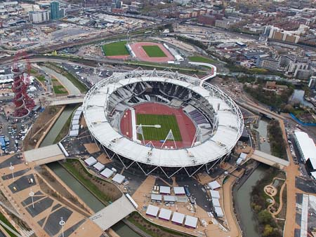 Olympic stadium London 2012.