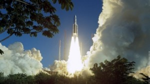 Arianespace launches two geostationary satellites