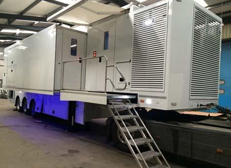 INC delivers HD OB van to Kuwait TV