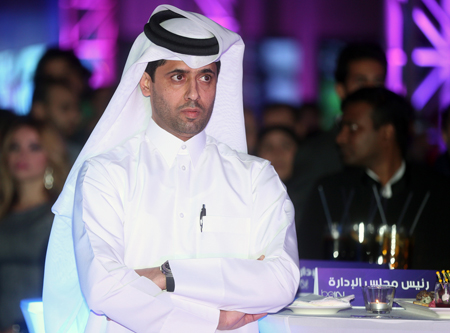 Nasser Al Khelaifi, Chairman and CEO of beIN Media Group.