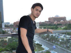 Trey Smith in the UAE.