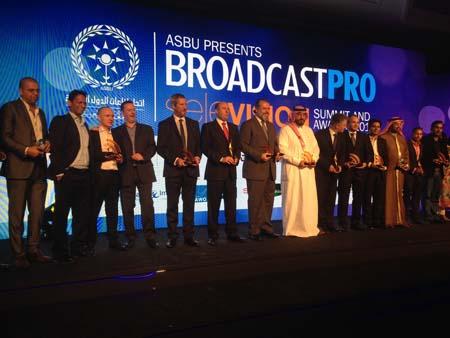 ASBU BroadcastPro Selevision Award winners.