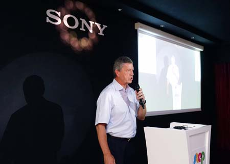 Rob Sherman, Managing Director, Sony PSMEA.