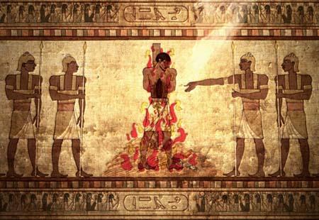 The Egyptian Job.