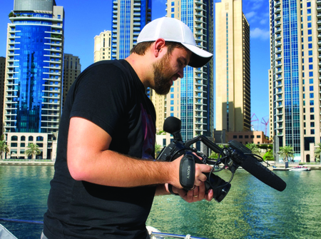 Filmmaker Kirill Kripak won the 48 hour Film Project Dubai.