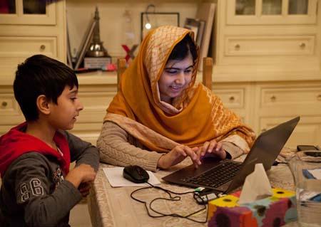 He Named Me Malala.  (photo credit:  Caroline Furneaux)