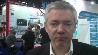 Stuart Russell, EMEA Marketing Manager about Ross Video's offerings at CABSAT 2016.