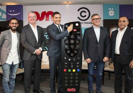 Trevor Noah and Fahad Albutairi unveil Comedy Central HD on OSN