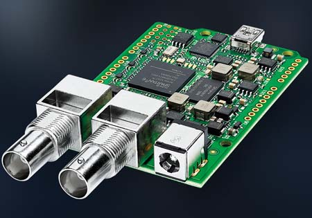 Blackmagic 3G-SDI Arduino Shield now available