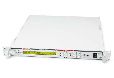Work Microwave to release three new DVB products