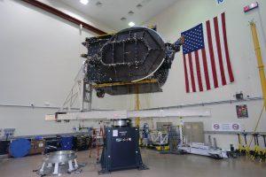 JCSAT-16 performing post-launch manoeuvres