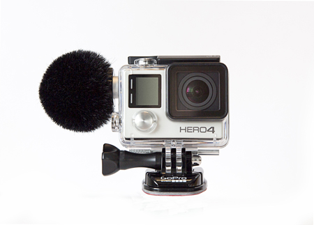 Sennhieser action camera microphone