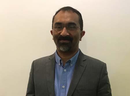 Suresh Kumar, Acting CTO of Sky News Arabia.