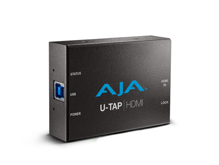 AJA ships U-TAP USB 3.0 ingest devices