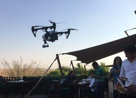 UAE-based natural history filmmaker showcases drone power in documentaries