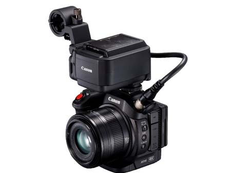Canon launches XC15 compact 4K camcorder