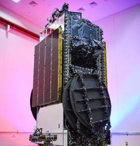 EchoStar XIX arrives at Cape Canaveral
