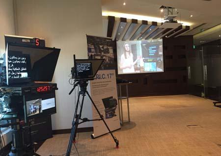 Vitec showcases products in Dubai