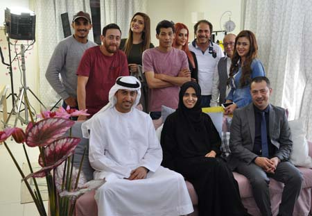 Abu Dhabi Film Commission and Clacket Media wrap up filming of Arabic comedy series