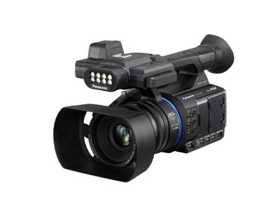 Panasonic demonstrates UHD camera line-up at CABSAT