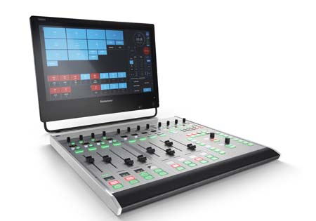 Lawo introduces Ruby visual radio console at NAB