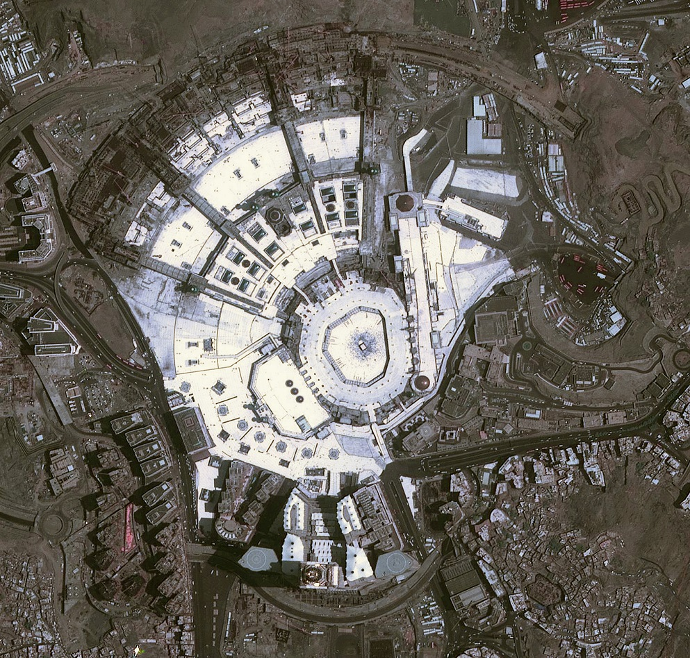 DubaiSat-2 captures images of The Great Mosque